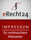 Erecht24-siegel-impressum-rot in Impressum