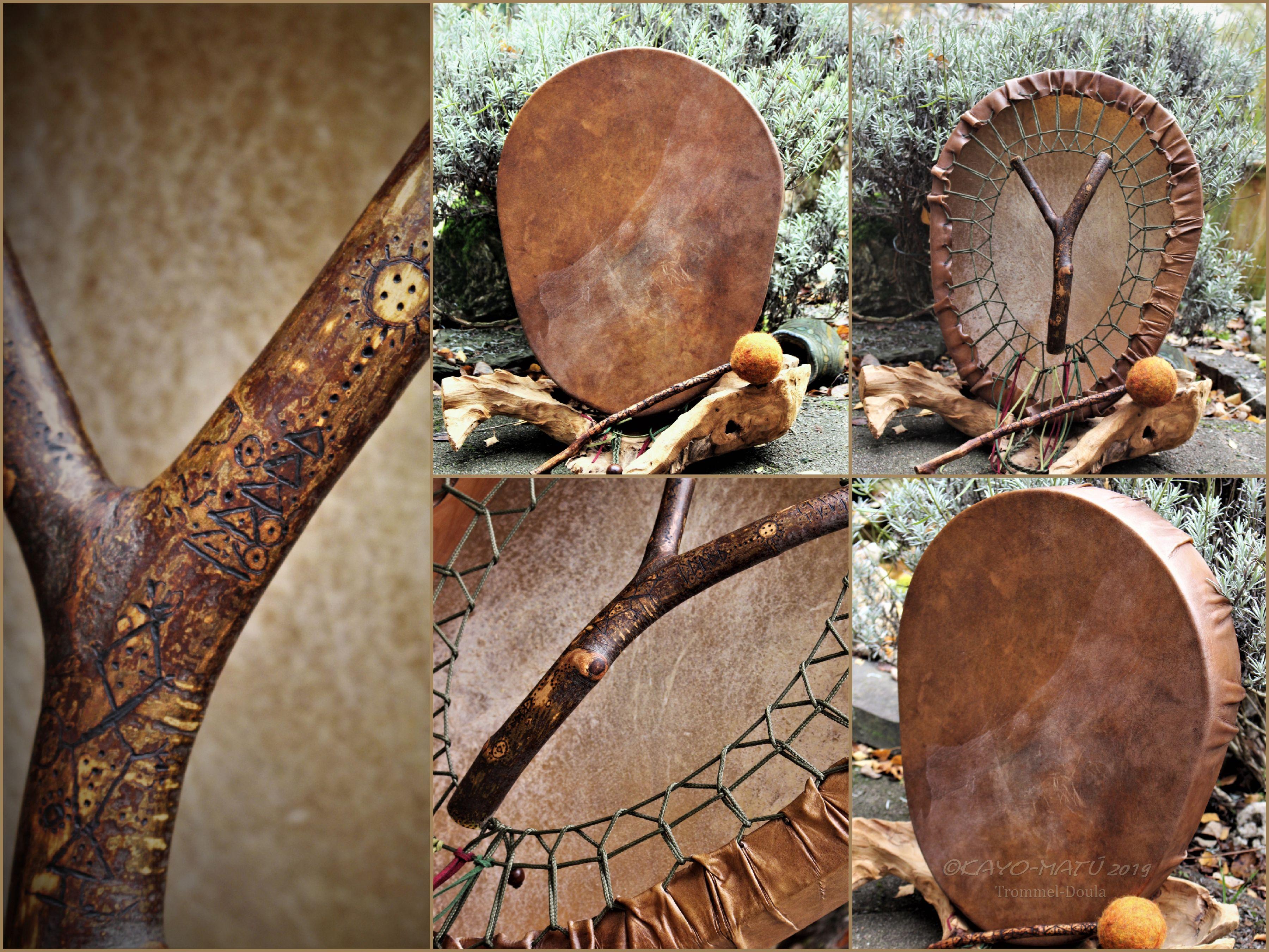 Collage Fotortat Fotor in Ovale-Zaubertrommel  Rønne Bœmm